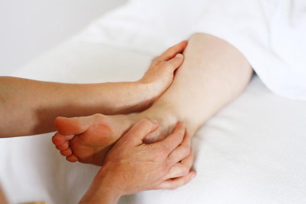 Fußreflexzonen-Behandlung