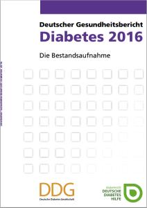 Cover des Gesundheitsberichts