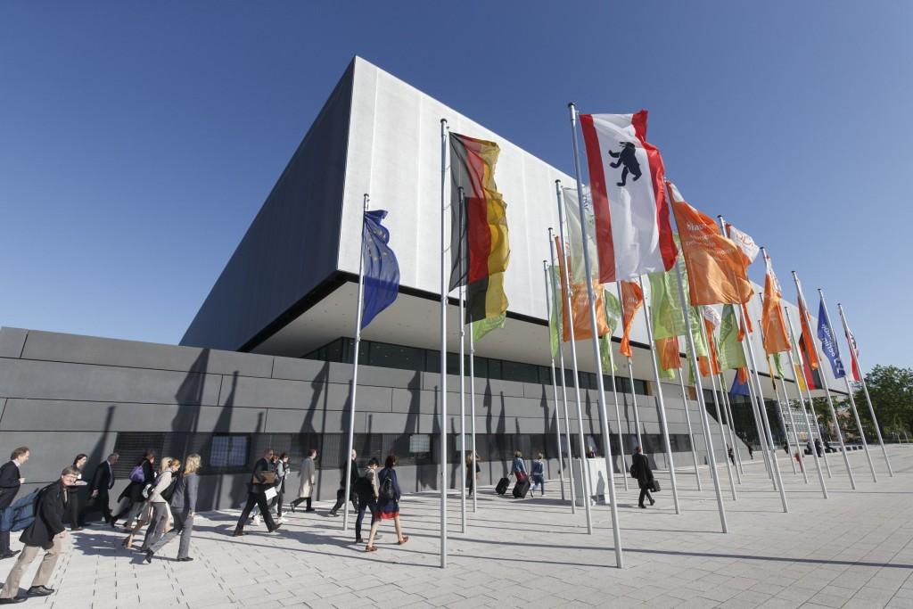 Der CityCube in Berlin – auch in diesem Jahr Veranstaltungsort des Diabetes Kongress (Fotograf: Dirk Deckbar)